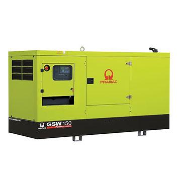 150 kVA Volvo Silent Diesel Generator - Pramac GSW150V
