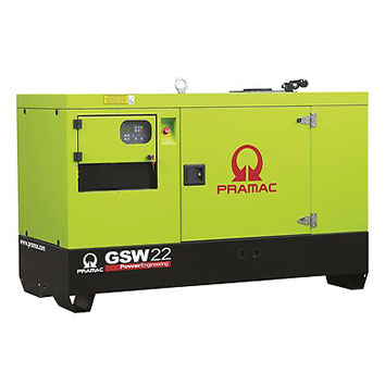15 kVA Perkins Single Phase Silent Diesel Generator - Pramac GSW22P