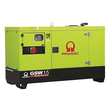 15 kVA Yanmar Stage V Auto Start Silent Diesel Generator - Pramac GSW15Y