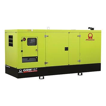 167 kVA Perkins Stage IIIa Silent Diesel Generator - Pramac GSW167P