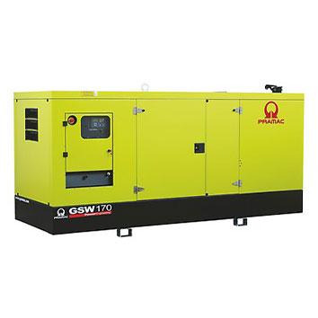 170 kVA Volvo Silent Diesel Generator - Pramac GSW170V