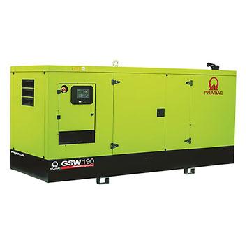190 kVA FPT Auto Start Silent Diesel Generator - Pramac GSW190I