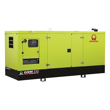 210 kVA Perkins Stage IIIa Silent Diesel Generator - Pramac GSW210P
