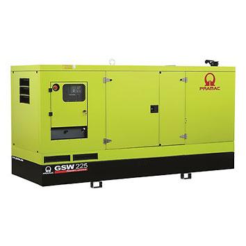 225 kVA Volvo Stage IIIa Silent Diesel Generator - Pramac GSW225V