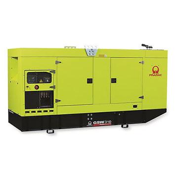 310 kVA Doosan Auto Start Silent Diesel Generator - Pramac GSW310DO