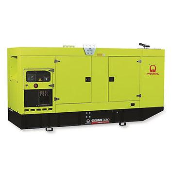 330 kVA FPT Auto Start Silent Diesel Generator - Pramac GSW330I