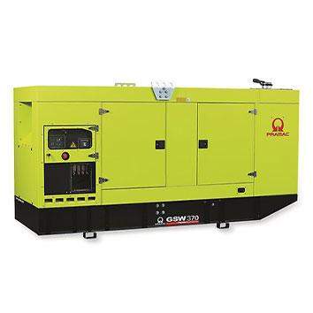 370 kVA FPT Auto Start Silent Diesel Generator - Pramac GSW370I