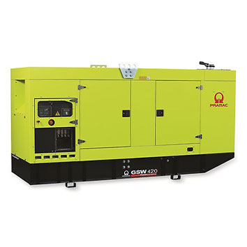 420 kVA Volvo Stage IIIa Silent Diesel Generator - Pramac GSW420V
