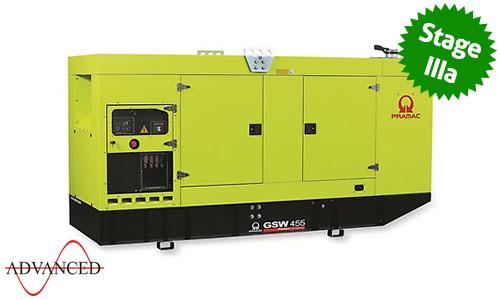450 kVA Volvo Stage IIIa Silent Diesel Generator - Pramac GSW455V