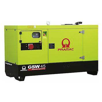45 kVA Yanmar Auto Start Silent Diesel Generator - Pramac GSW45Y
