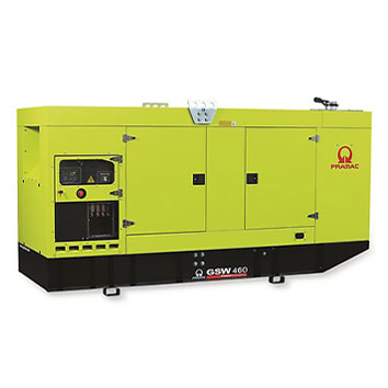 460 kVA FPT Auto Start Silent Diesel Generator - Pramac GSW460I