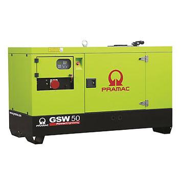 50 kVA Yanmar Auto Start Silent Diesel Generator - Pramac GSW50Y