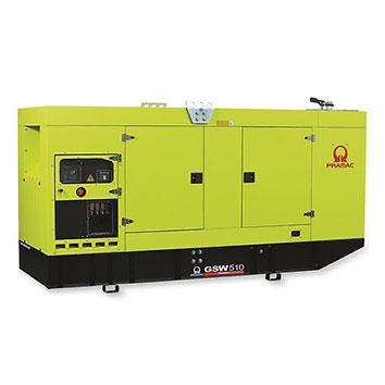 510 kVA Doosan Auto Start Silent Diesel Generator - Pramac GSW510DO