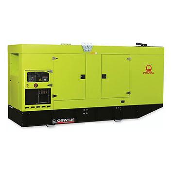 545 kVA FPT Auto Start Silent Diesel Generator - Pramac GSW545I