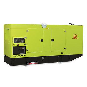 630 kVA Doosan Auto Start Silent Diesel Generator - Pramac GSW630DO