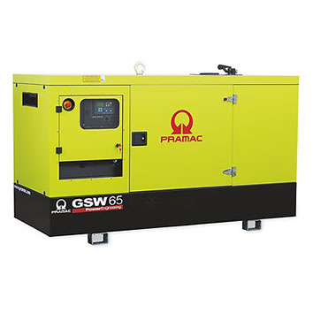 65 kVA FPT Auto Start Silent Diesel Generator - Pramac GSW65I