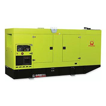 665 kVA FPT Auto Start Silent Diesel Generator - Pramac GSW665I