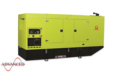 700 kVA Doosan Auto Start Silent Diesel Generator - Pramac GSW705DO