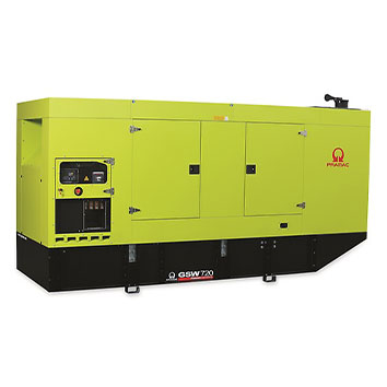 720 kVA Volvo Silent Diesel Generator - Pramac GSW720V