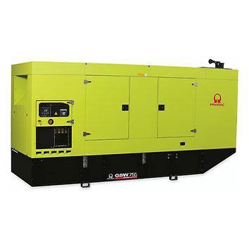 750 kVA Doosan Auto Start Silent Diesel Generator - Pramac GSW755DO