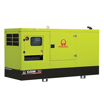 90 kVA FPT Auto Start Silent Diesel Generator - Pramac GSW90I