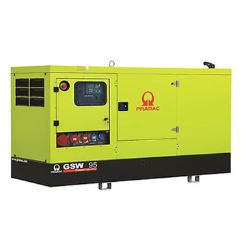 95 kVA Perkins Stage IIIa Silent Diesel Generator - Pramac GSW95P