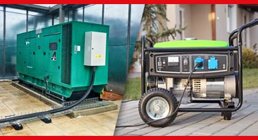 Diesel Generator Prime Standby Continuous