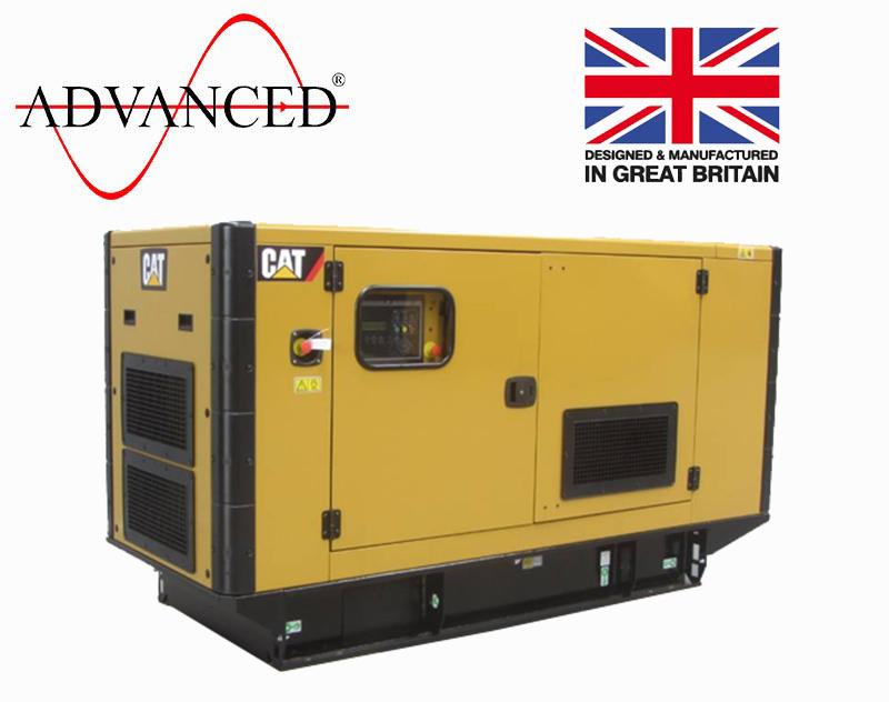 Caterpillar 165kVA Diesel Generator, DE165E0 Genset
