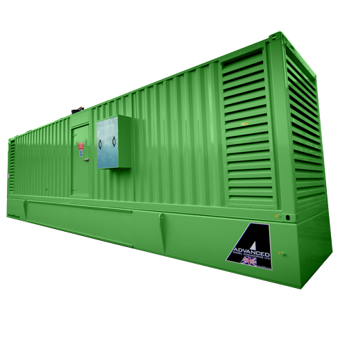 MTU DS1000 Enclosed Diesel Generator