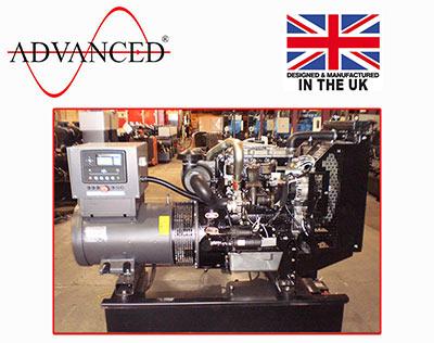 Open Perkins 30kVA Diesel Generator, ADE-PS30 Genset