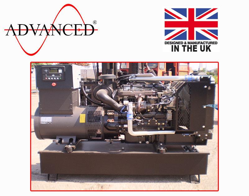 Open Perkins 80kVA Diesel Generator, ADE-PS80 Genset