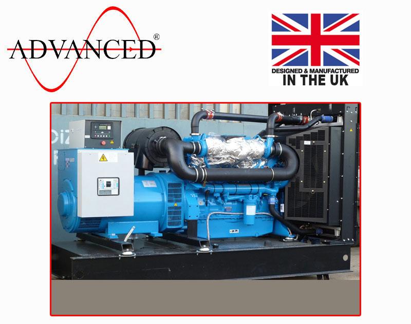 Open Perkins 800kVA Diesel Generator, ADE-PS800 Genset