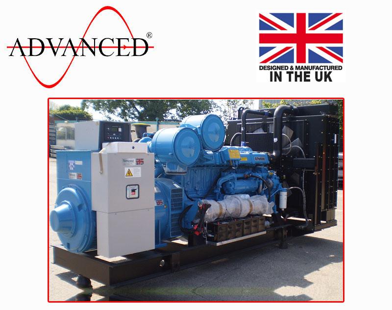 Open Perkins 1000kVA Diesel Generator, ADE-PS1000 Genset