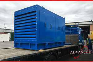 Bespoke Acoustic Enclosure Containing Stage 5 Diesel Engine