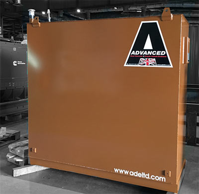 A bulk fuel tank by Advanced Diesel Engineering