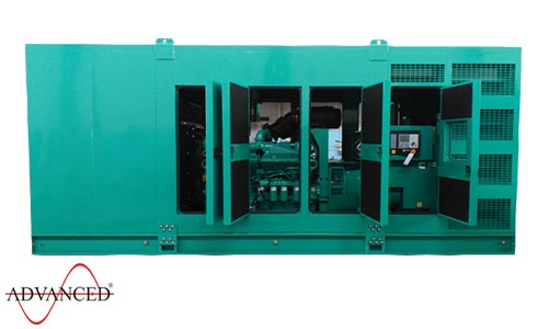 1100 kVA Cummins Silent Diesel Generator - Cummins C1100D5B Canopied Genset