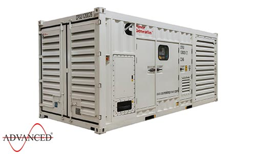 1400 kVA Cummins Diesel Generator in Container (Containerised) C1250D2R Genset