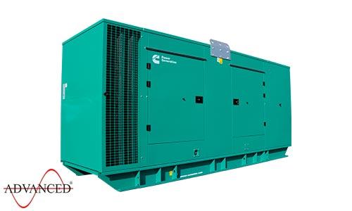 450 kVA Cummins Silent Diesel Generator - Cummins C450D5 QSG12 Engine