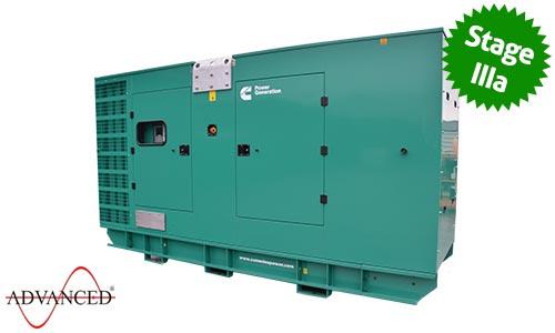 450 kVA Cummins Diesel Generator - Cummins C450D5eB Genset