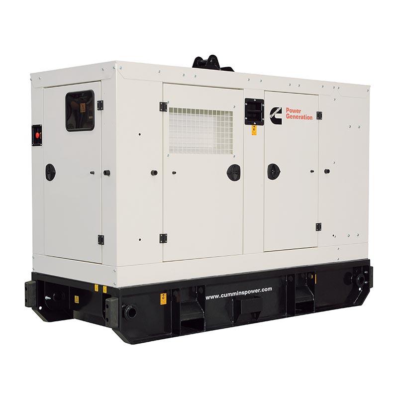 60 kVA Cummins Rental Spec Diesel Generator - Cummins C60D5R Genset