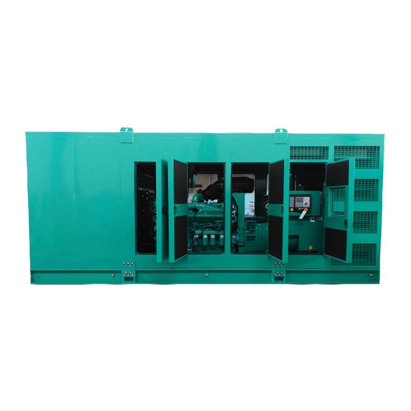 1250 kVA Cummins Silent Canopied Diesel Generator - Cummins C1400D5 (S) Genset