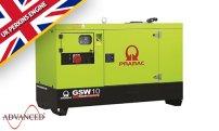 10 kVA Perkins Diesel Generator - Pramac GSW10 Genset