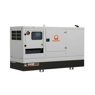115 kVA Perkins Rental Spec Silent Diesel Generator - Pramac GSW115P Genset