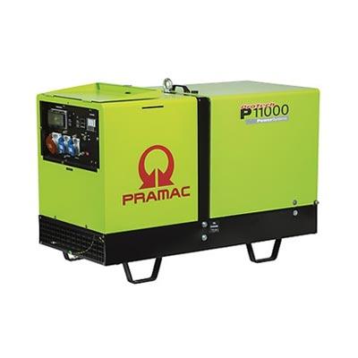 11 kVA Yanmar Diesel Generator - Pramac P11000 AMF