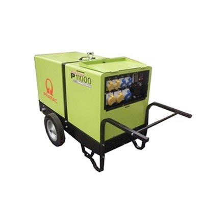 11 kVA Yanmar Portable Diesel Generator - Pramac P11000 Genset