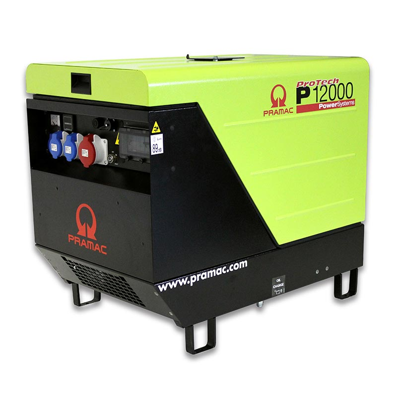12 kVA 230V Only Pramac Honda Portable Petrol Generator - Pramac P12000 230V Genset