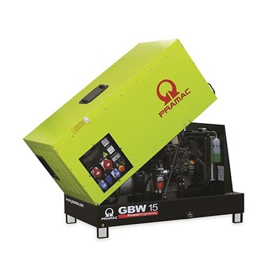 14 kVA Perkins Silent Diesel Generator - Pramac GBW15P Genset