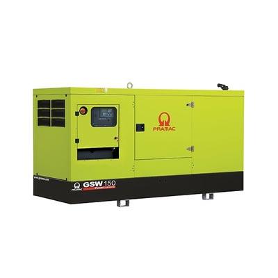 150 kVA Perkins Silent Diesel Generator - Pramac GSW150P Genset