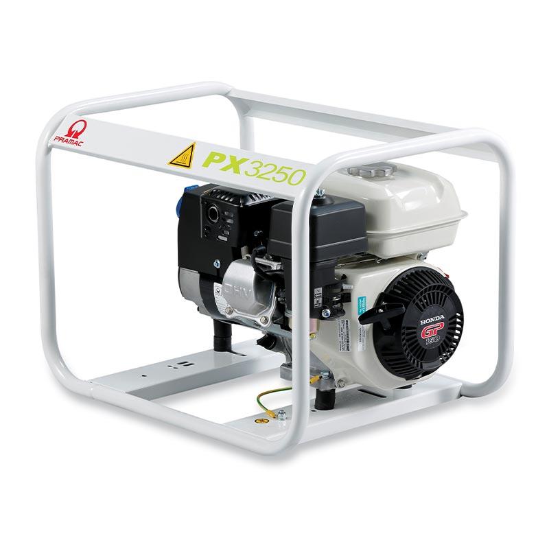 2.8 kVA Pramac Honda Portable Petrol Generator - PX3250 Genset