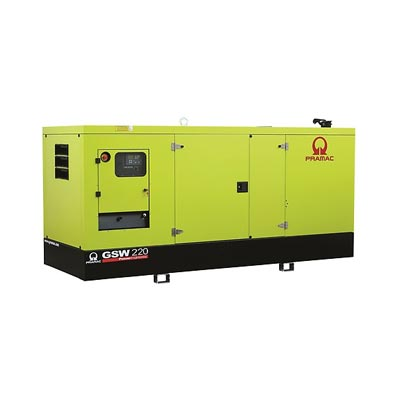 220 kVA Perkins Diesel Generator - Pramac GSW220 Genset